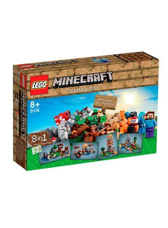 LEGO-Minecraft-21116-Crafting-Box--Mesa-de-Trabajo-