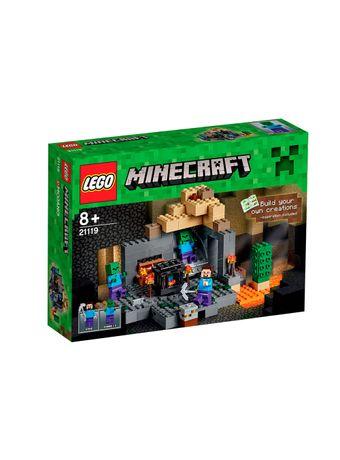 LEGO-Minecraft-21119-The-Dungeon--El-Calabozo-