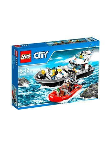 LEGO-City-60129-Police-Patrol-Boat--Barco-Patrulla-Policia-