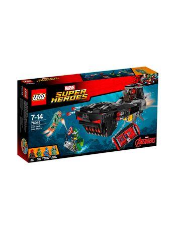 LEGO-Super-Heroes-Ataque-76048-Iron-Skull-Sub-Attack--Submarino-