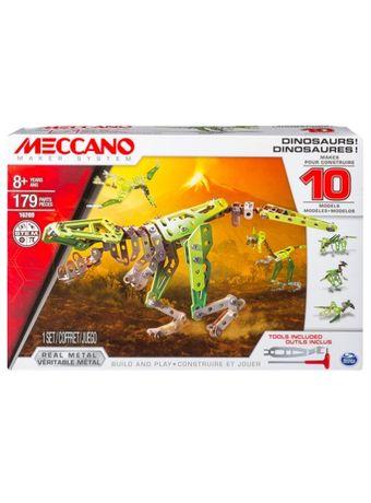 Meccano-Dinosaurios