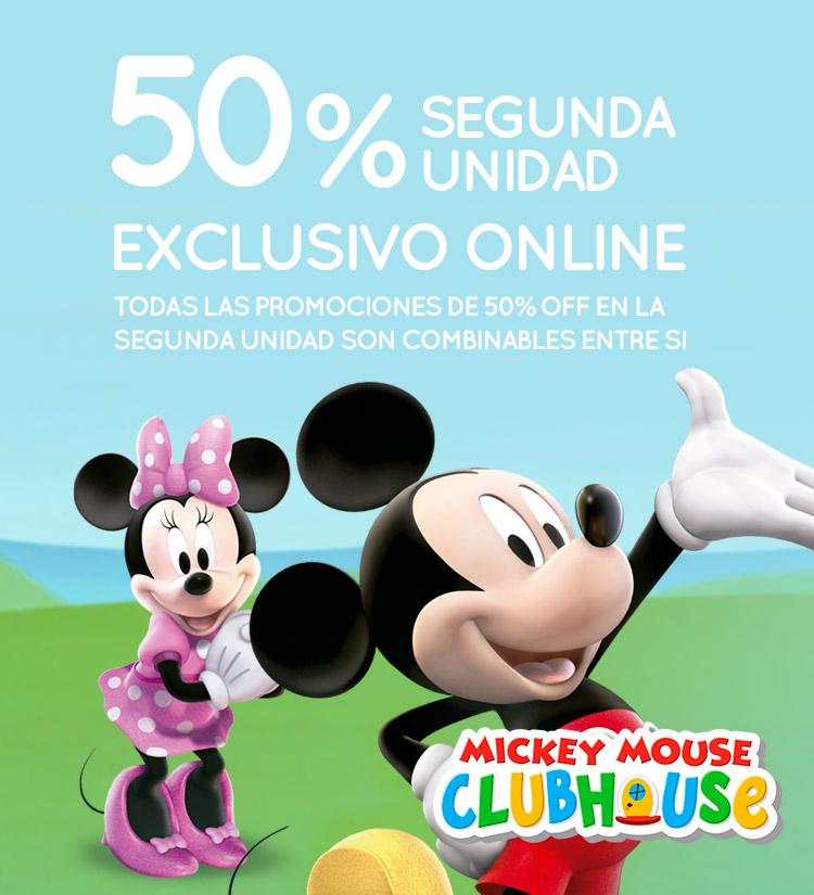 Slider - 50% Segunda Unidad Mickey