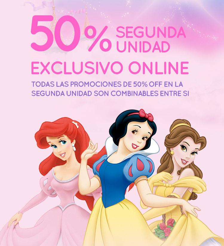 Slider - 50% Segunda Unidad Princesas