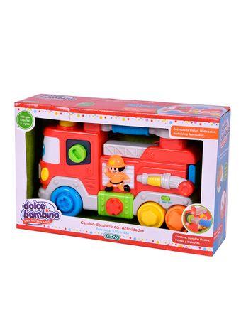 Dolce-Bambino-Camion-Bombero-Con-Actividades