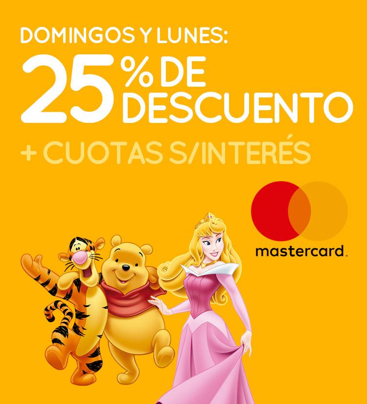 Mastercard DOM y LUN
