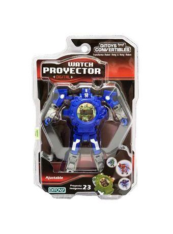 2244-Reloj-Proyector-Azul