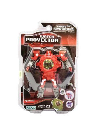 2244-Reloj-Proyector-Rojo