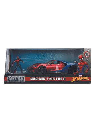 HollywoodRides-Marvel-124-SpiderMan-2017FordGT-Package-01